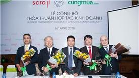 Đại gia Nhật Bản rót vốn vào hệ thống thương mại điện tử Cungmua