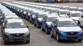 Ô tô Thái Lan nhập khẩu miễn thuế về Việt Nam tăng mạnh