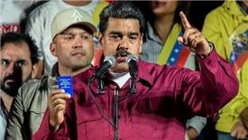 Bất chấp sự phản đối, ông Nicolas Maduro tuyên bố tái đắc cử tổng thống Venezuela