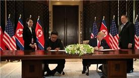 Hai nhà lãnh đạo Mỹ và Triều Tiên có được gì sau cái bắt tay lịch sử?