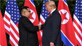 Hội nghị thượng đỉnh Mỹ-Triều chính thức diễn ra sau nhiều lần 'chết đi sống lại'