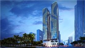 Tòa tháp đôi 50 tầng ở Đà Nẵng 'nằm trong tay' ngân hàng của bầu Hiển