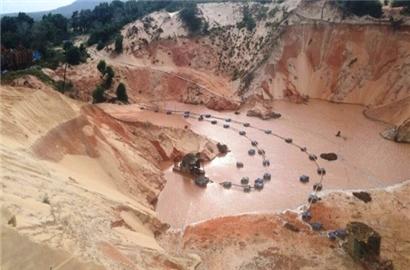 Khai thác Titan: Bình Thuận có nguy cơ 'chết khát'