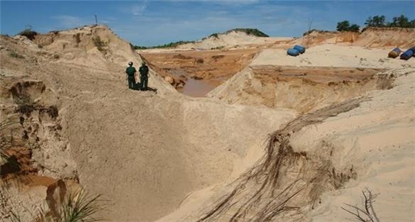 Bộ trưởng Trần Hồng Hà: Khai thác titan tại Bình Thuận không gây ô nhiễm nước ngầm?