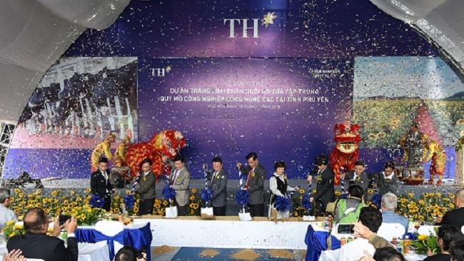 Tập đoàn TH rót nghìn tỷ nuôi bò sữa, sản xuất nước mắm ở Phú Yên