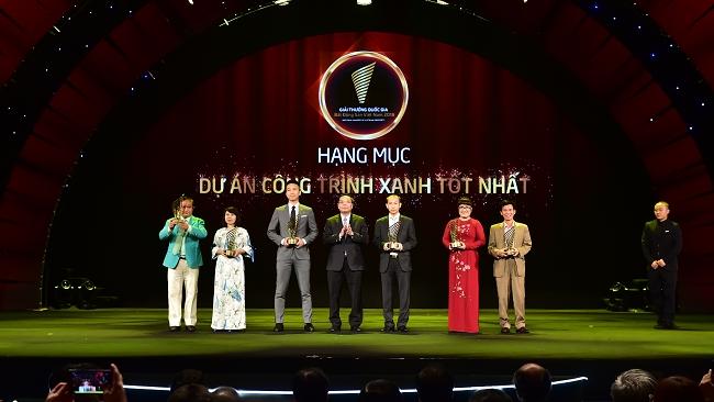 Tập đoàn Phúc Khang nhận cú đúp Giải thưởng Quốc gia bất động sản Việt Nam 2018
