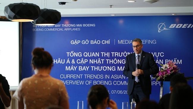 Boeing: Thị trường hàng không Đông Nam Á sẽ tăng trưởng bền vững
