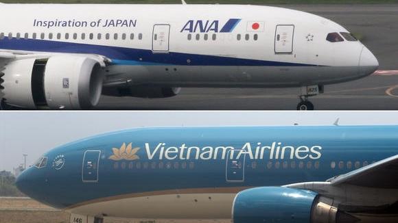Vietnam Airlines và ANA mở rộng các chuyến bay liên danh