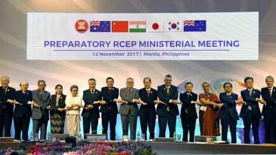 RCEP dự kiến kết thúc đàm phán vào năm 2018