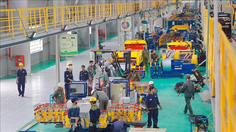 Trường Hải khánh thành nhà máy đầu tiên xuất khẩu ô tô