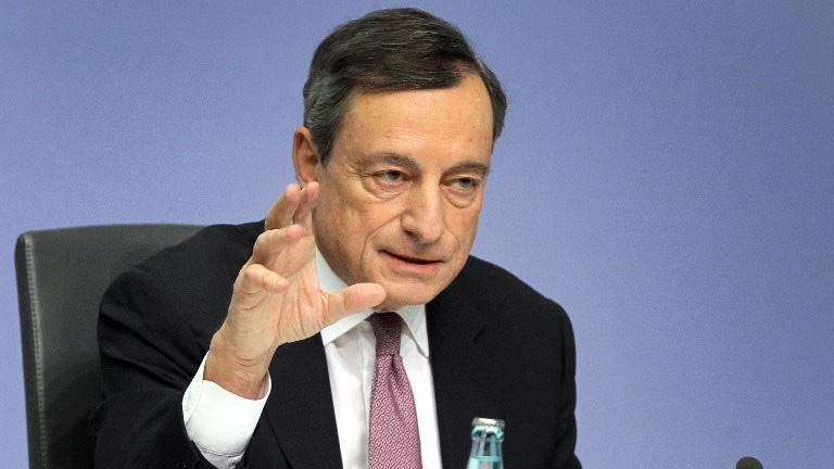 """Chủ tịch Ngân hàng Trung ương châu Âu: """"Giá tiền ảo mang tính đầu cơ cao"""""""