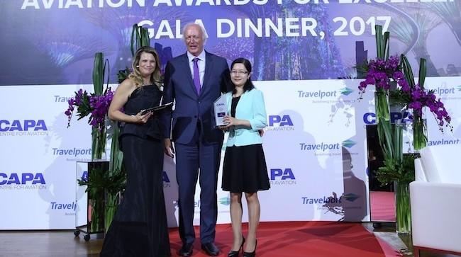 Vietnam Airlines đoạt giải thưởng hãng hàng không của năm