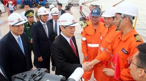 Nghệ An vận hành cầu cảng 70.000 tấn