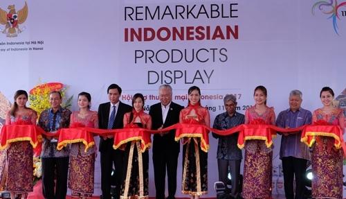 Khai mạc Hội chợ Thương mại Indonesia 2017 bên lề APEC