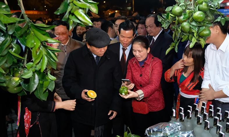 Hà Giang ra mắt ứng dụng mua bán nông sản qua smartphone