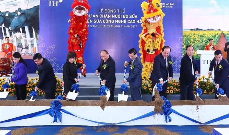 TH Truemilk đầu tư 2.500 tỷ đồng chăn nuôi bò sữa công nghệ cao tại Hà Giang