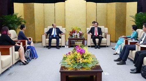 Tập đoàn xây dựng lớn của Trung Quốc tìm hiểu đầu tư tại Đà Nẵng