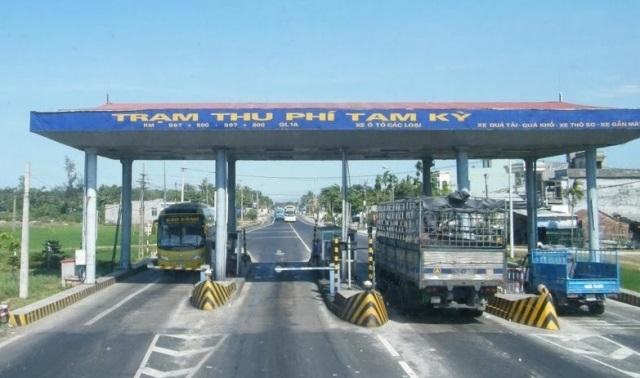 Gần 4.500 xe sẽ được miễn, giảm giá vé qua trạm BOT Tam Kỳ