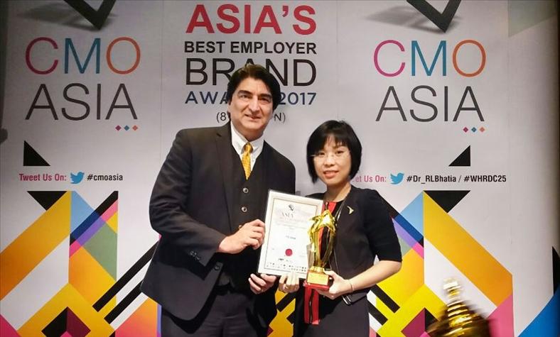 TTC nhận giải thưởng Asia Best CSR Practices Awards 2017