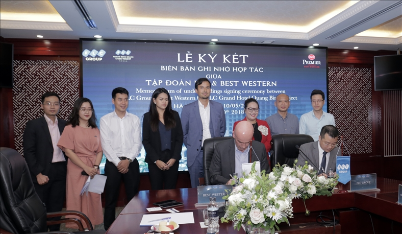 FLC hợp tác với công ty quản lý khách sạn của Mỹ