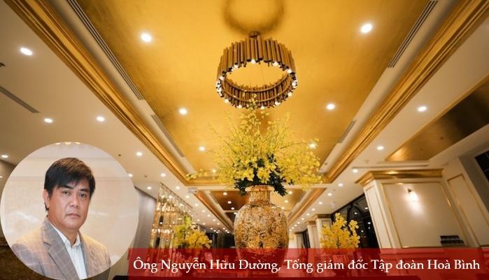 Ước vọng của ông chủ khách sạn dát vàng lớn nhất Việt Nam