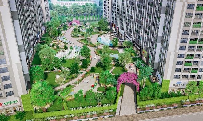 Hà Nội cho phép Imperia Sky Garden chuyển khách sạn thành chung cư