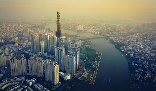 Toà nhà cao nhất Việt Nam đã xây đến độ cao 400 mét