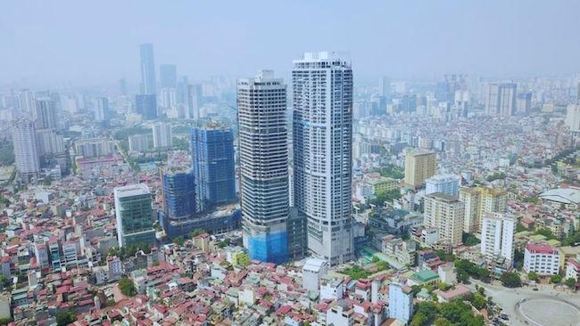 Nội chiến căng thẳng ở toà tháp căn hộ cao nhất Việt Nam