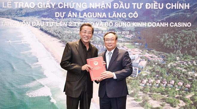 Thừa Thiên Huế sẽ có casino tầm cỡ quốc tế với 200 bàn chia bài