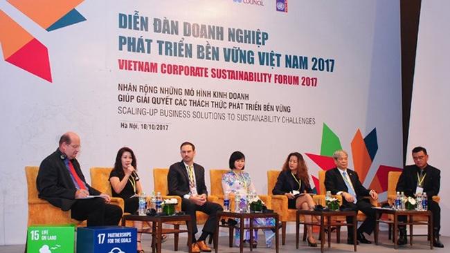 Diễn đàn doanh nghiệp phát triển bền vững 2017: Kinh nghiệm từ Coca-Cola, Unilever và Heineken