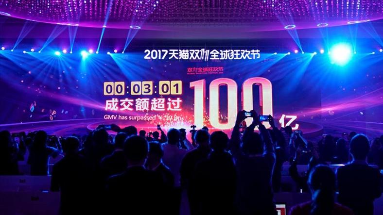 'Ngày Độc thân' 11/11/2017, Alibaba thu về 16 tỷ USD chỉ trong vài tiếng