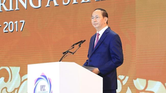 Toàn văn phát biểu khai mạc CEO Summit của Chủ tịch nước Trần Đại Quang