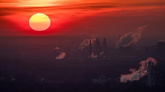 Lượng CO2 trong khí quyển đạt mức cao nhất trong vòng 800.000 năm