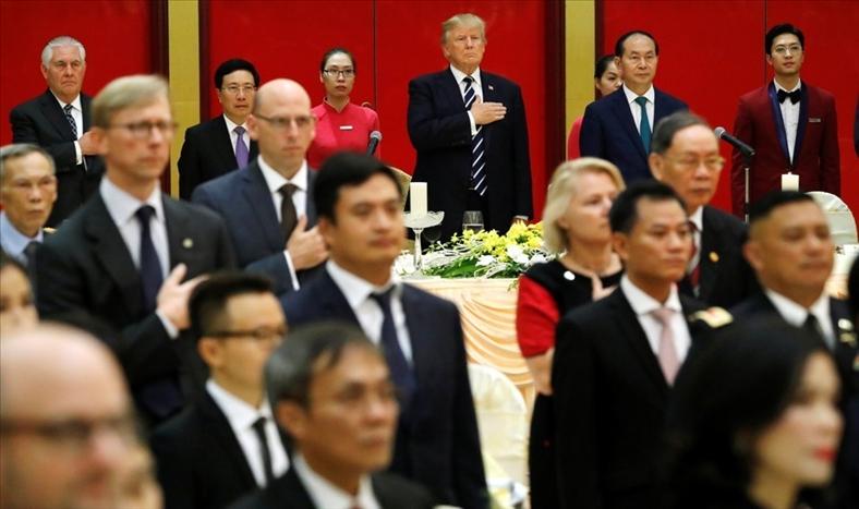 Con đường 'làm nước Mỹ vĩ đại trở lại' vắt qua châu Á