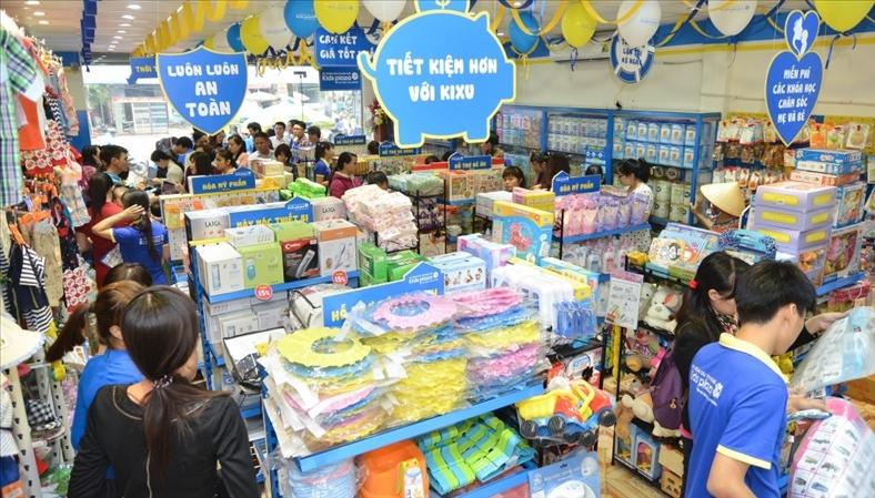 VI Group rót vốn vào hệ thống siêu thị mẹ và bé