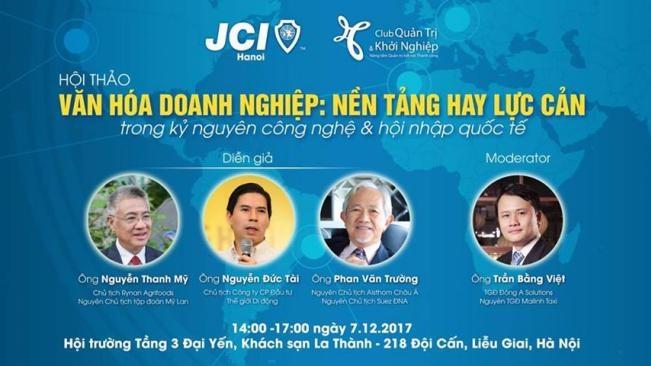 Sắp diễn ra hội thảo văn hóa doanh nghiệp quy mô lớn tại Hà Nội