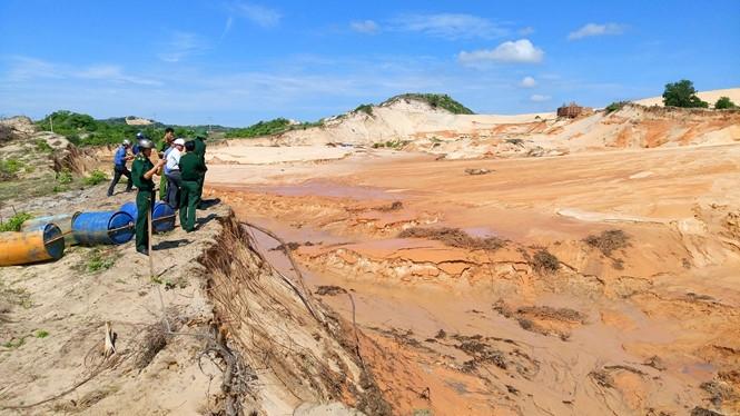 Khai thác titan ở Bình Thuận: Đặt yêu cầu bảo vệ môi trường lên trên hết