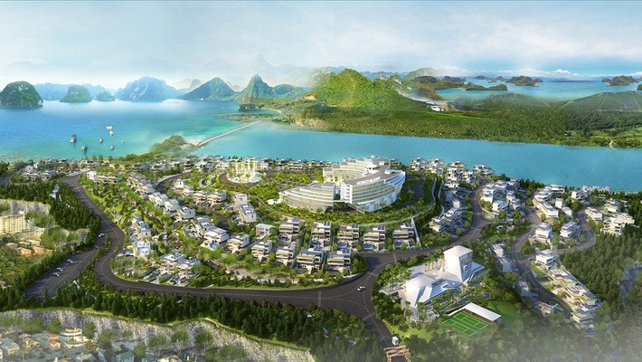 Đầu tư 2.000 tỷ đồng xây biệt thự nghỉ dưỡng nhìn ra vịnh Hạ Long