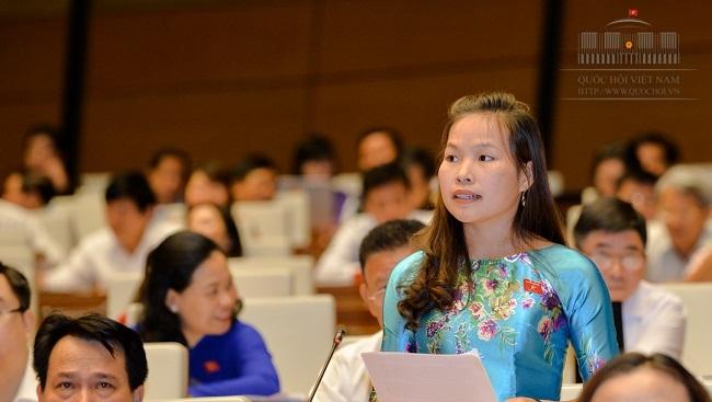 ĐBQH Cao Thị Giang: Nhiều vụ tham nhũng bị phát hiện do tranh giành địa vị