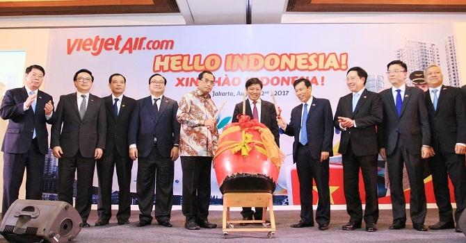 Vietjet mở đường bay thẳng TP. HCM - Jakarta