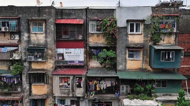 Cả nước còn hơn 600 chung cư cũ hư hỏng nặng, nguy hiểm