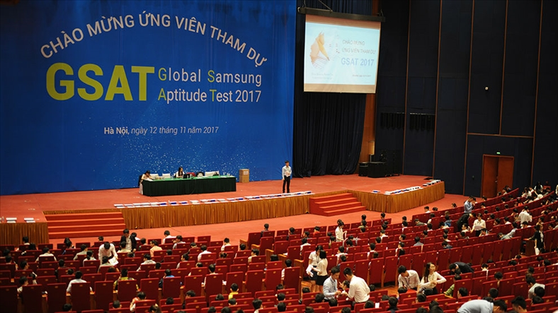 Samsung Việt Nam tuyển dụng nhân sự toàn hệ thống khu vực phía Bắc