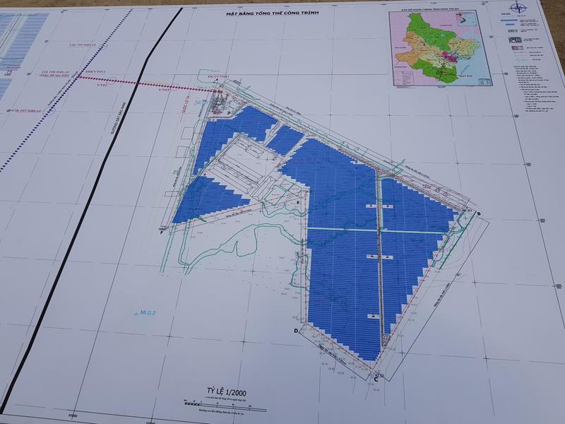 BIM Group khởi công xây nhà máy điện mặt trời ở Ninh Thuận