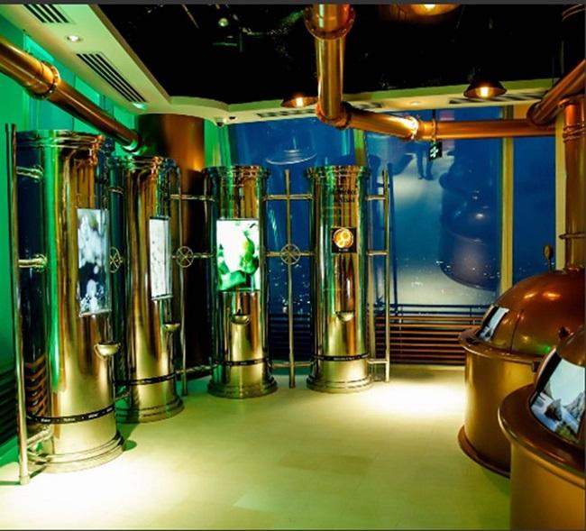 """Bảo tàng bia trên cao: """"Cuộc chơi"""" thương hiệu táo bạo của Heineken tại Việt Nam"""