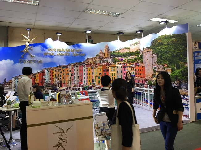 Những nét văn hóa hòa quyện tại hội chợ du lịch quốc tế Việt Nam 7