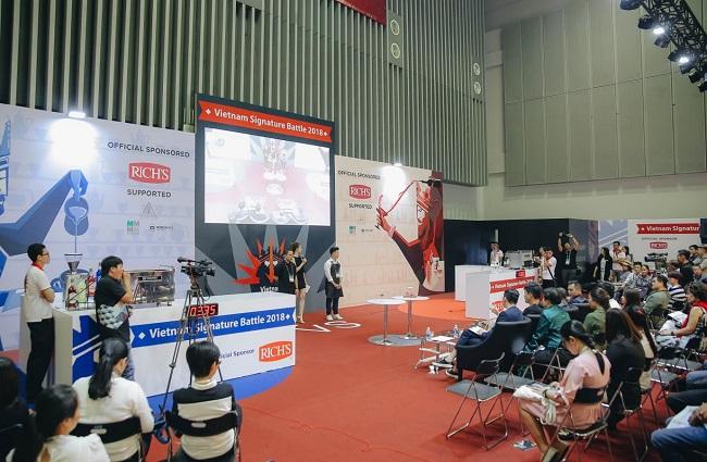 'Trận chiến pha chế' tại Cafe Show Việt Nam 2018