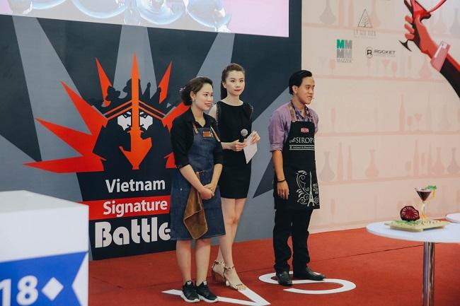 'Trận chiến pha chế' tại Cafe Show Việt Nam 2018 5