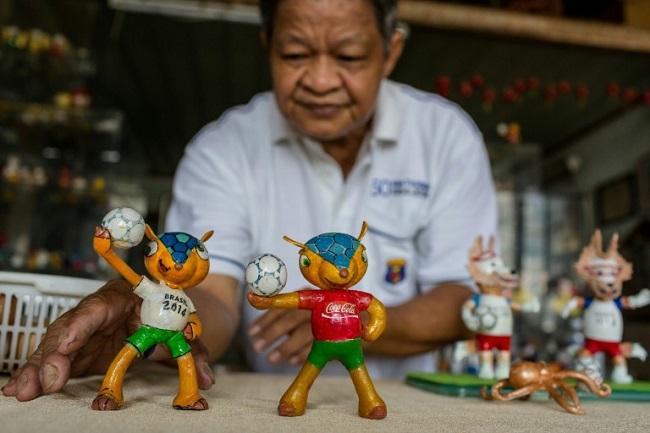Không chỉ có cúp World Cup, Việt Nam còn có linh vật từ vỏ trứng 3