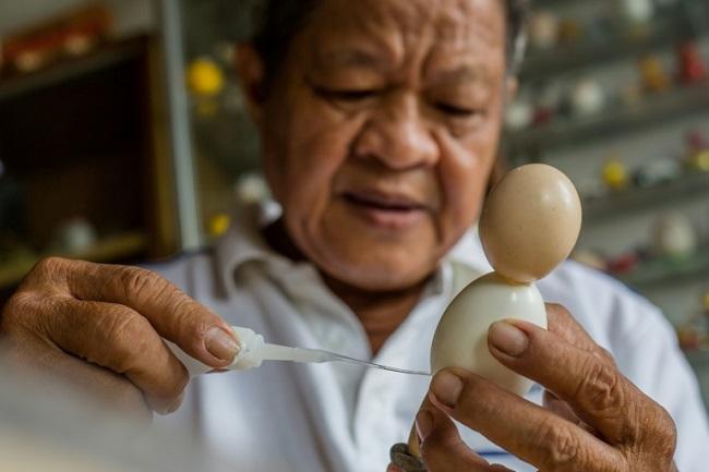 Không chỉ có cúp World Cup, Việt Nam còn có linh vật từ vỏ trứng