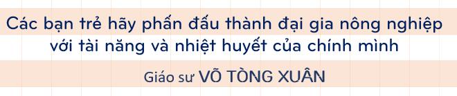 Giáo sư Võ Tòng Xuân: Tư duy và định hình lại cách thức phát triển Đồng bằng sông Cửu Long 10